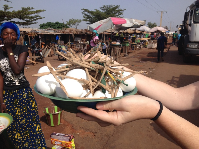 Mali Bamako hard boiled egg Africa breakfast