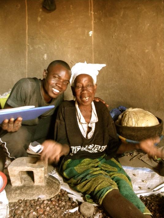 Mali village rural woman traditional smile farmer