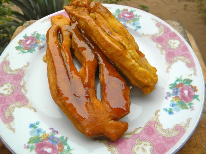 Mali Timbuktu Tombouctou alkachi fried pastry traditional sweet dessert