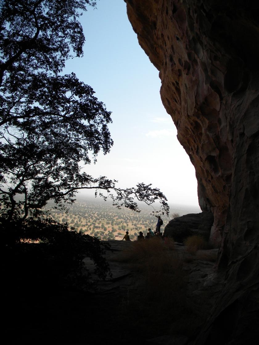 Mali tourism hike cliff climb outdoors Siby Kati West Africa