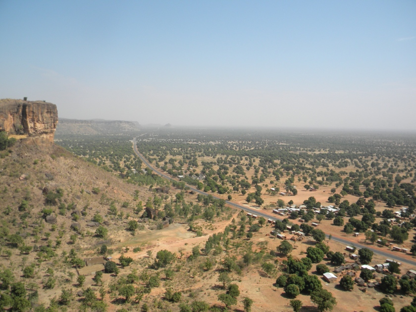 Mali tourism views Kati Siby hike climb cliff