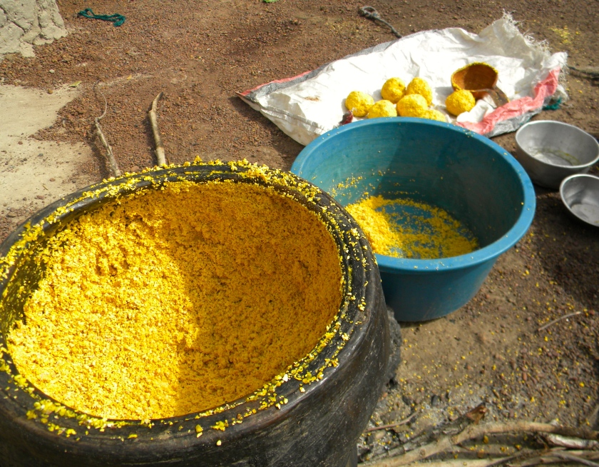 Mali rural agriculture processing nere traditional medicinal malaria nutrition