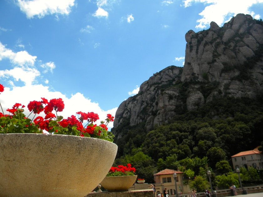 Monserrat Spain cliff monestary