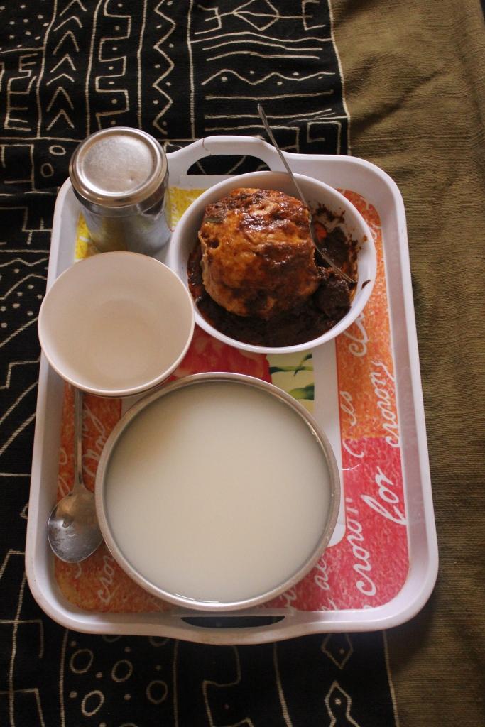 Mali traditional cuisine dumpling toukasso bogolan blanket