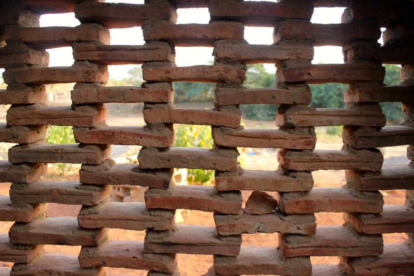 Mali Mopti Bandiagara traditional stone architecture wall
