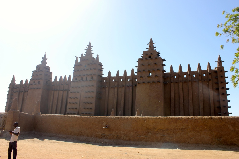 Mali Djenne mud mosque world heritage traditional architecture unesco