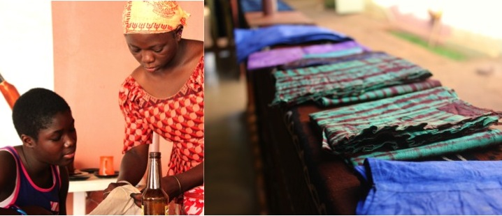 Bamako west africa traditional fabric teach woman workshop