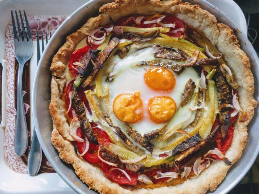 vegetable tart expat kitchen