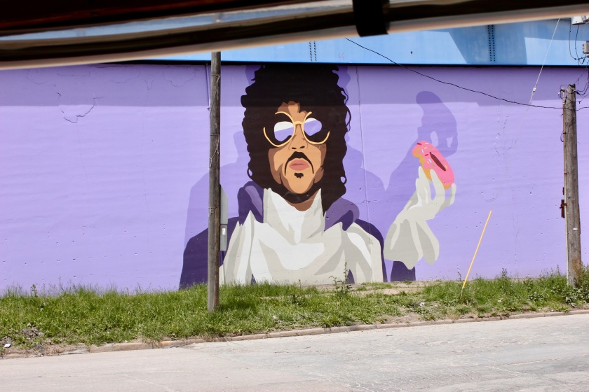 Cleveland Ohio downtown prince donut doughnut mural
