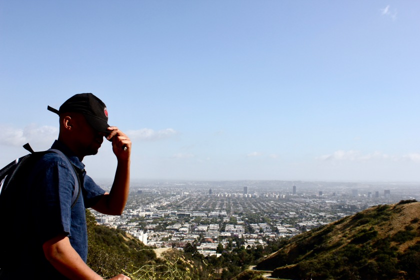 Los Angeles LA California vista view landscape runyon canyon
