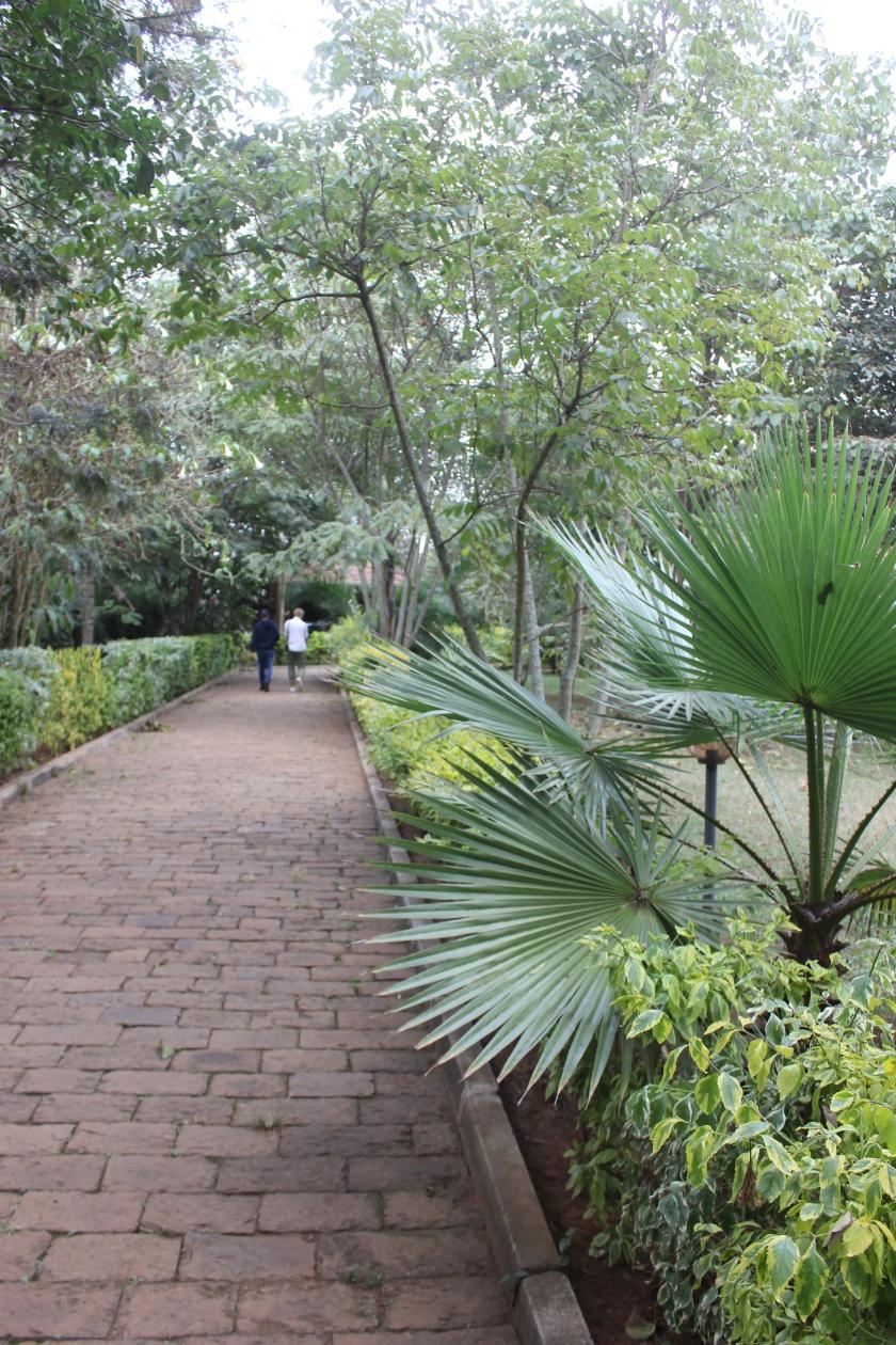 Kenya Anga Afrika glamping cobblestone welcome