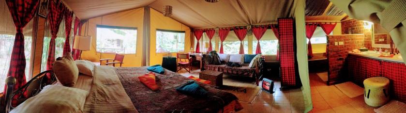 Kenya Nairobi Karen glamping Anga Afrika tent luxury