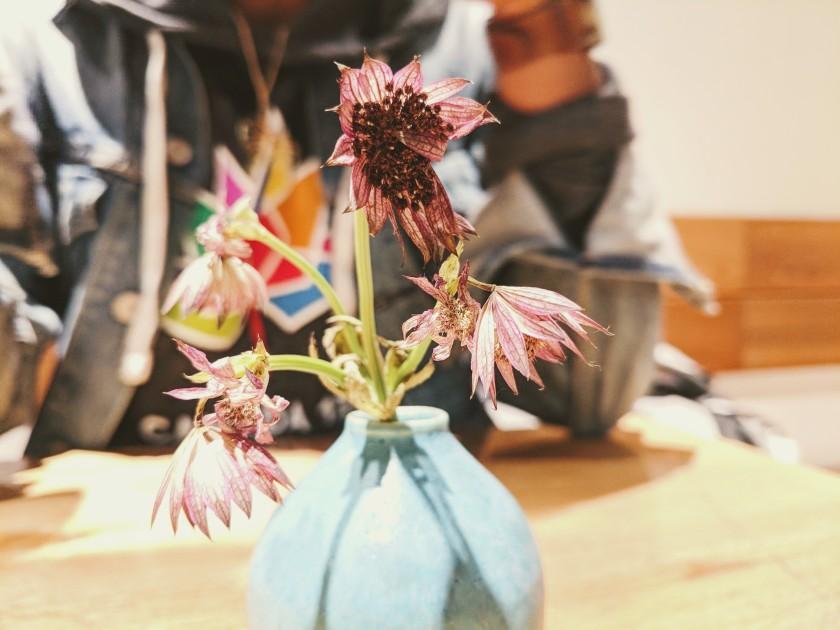 Tokyo Japan cafe flower vase Hachi Pan