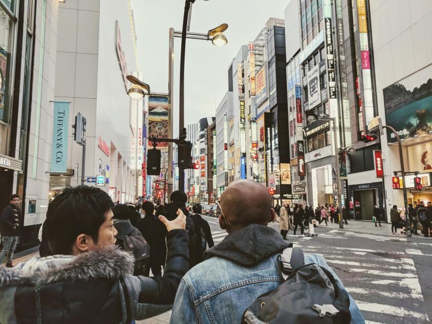 Shinjuku Tokyo Japan street tour shop
