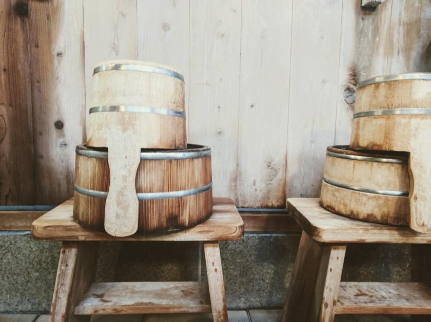 spa buckets